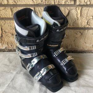 Lange Ski Boots Shoes Snow Black Size 8
